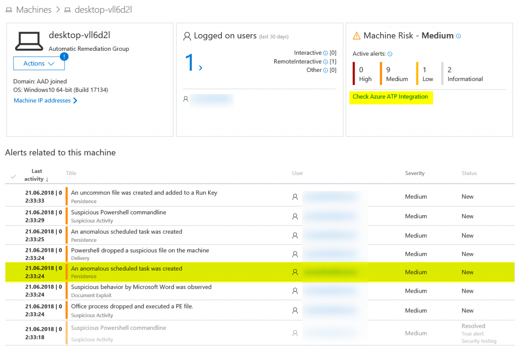 Overview of Windows Defender ATP – cubesys